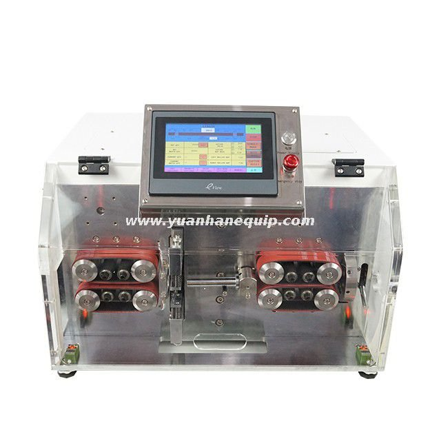 Cable Cutting and Outer Jacket Stripping Machine