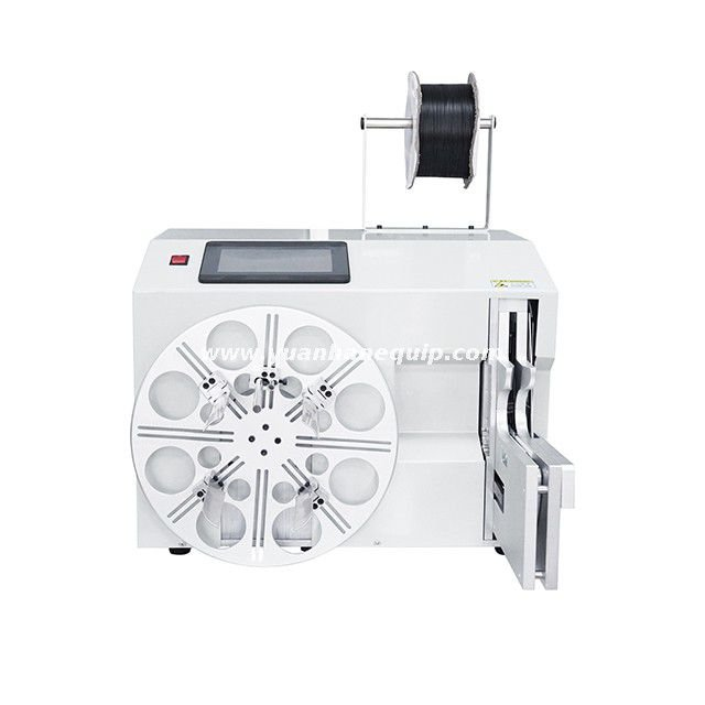 Automatic Cable Coiling and Twisting Tie Machine