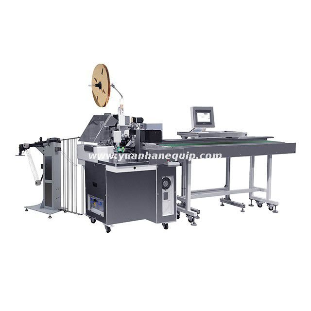 Fully Automatic Cable Tinning and Seal-Crimping Machine