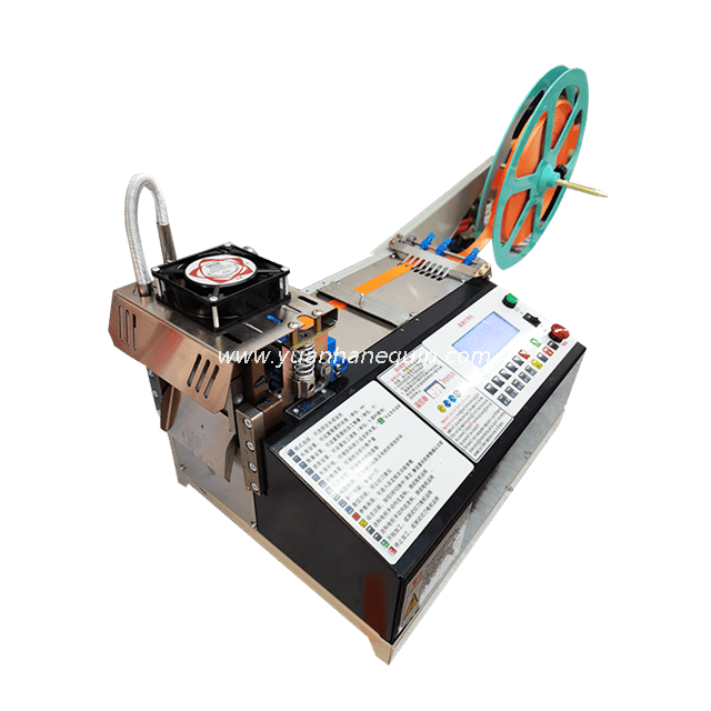Automatic Hot and Cold Webbing Tape Cutting Machine - High Speed Model