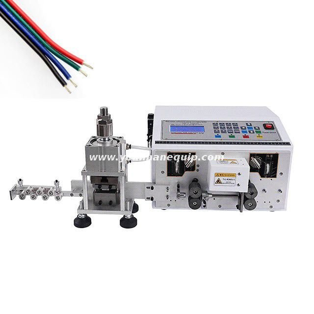 Automatic Multi-core Flat Cable Slitting and Stripping Machine