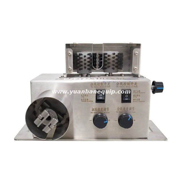 Wire Shield Brushing and Twisting Machine with Strong Power