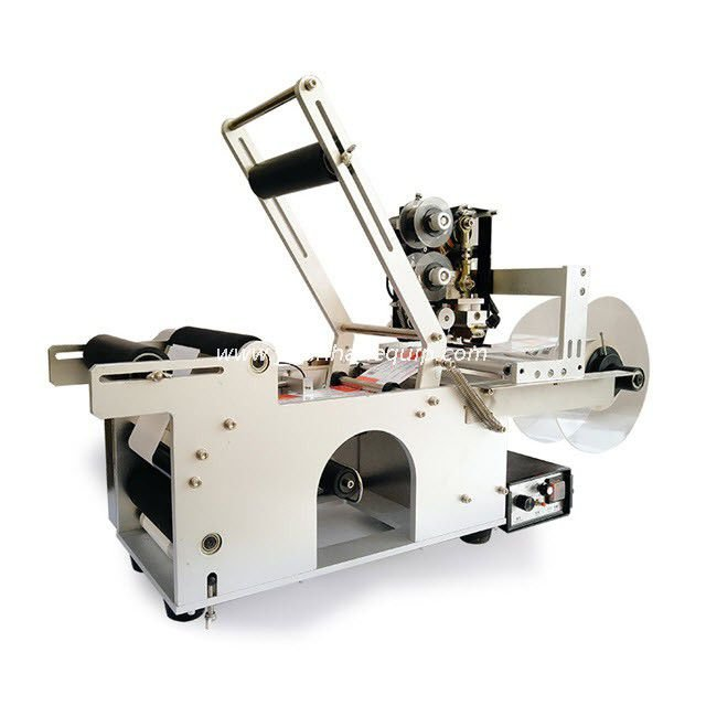 Round Bottle Labeling and Code Printing Machine