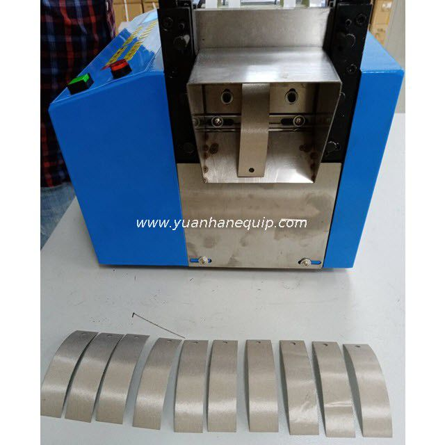 Automatic Strip Material Cutting and Hole Punching Machine