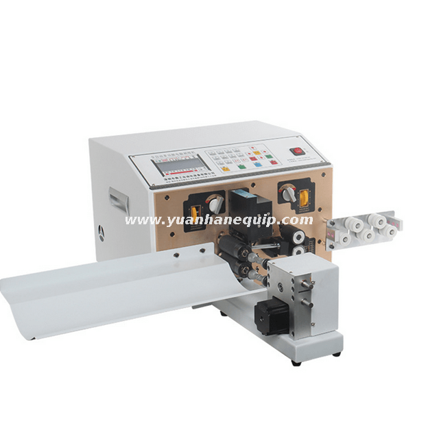 Fully Automatic Four-wire Cutting and Stripping Machine