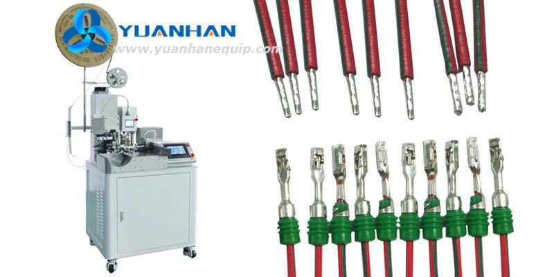 Wire One Side Rubber Seals Loading and Crimping Machine