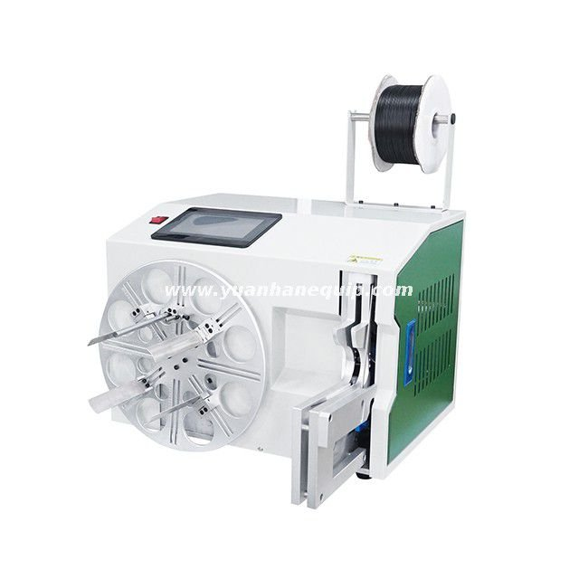 Automatic Cable & Hose Coil Winding and Bundling Machine