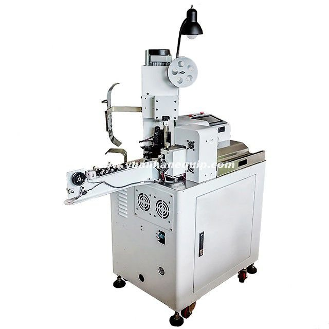 Automatic Wire Tinning and Connector Crimping Machine