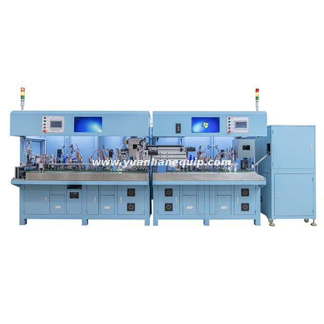 Fully-auto 3-Pin Power Cord Male & Female Head Production Line