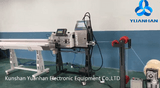 Automatic Wire Cutting, Stripping & Labeling Machine
