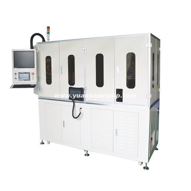 Coax Cable Cutting Stripping Crimping and Soldering Machine